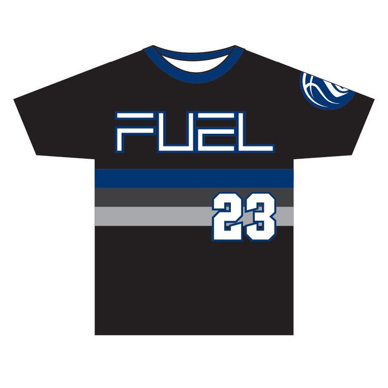 Wisconsin Fuel - Custom Stripes Game Shirt